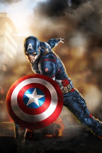 Art Captain America New