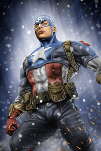 Art Captain America