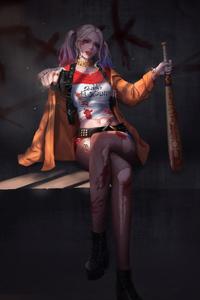 Art Harley Quinn 4k