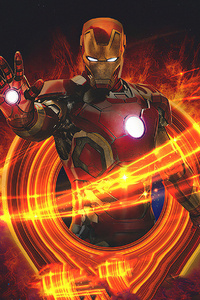 800x1280 Art Iron Man Marvel