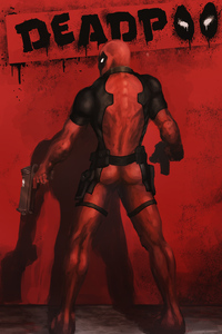 1280x2120 Art New Deadpool