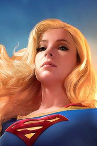 1125x2436 Art New Supergirl