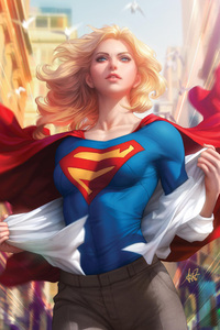 Art Of Supergirl