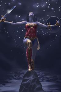 Art Of Wonder Woman