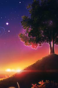 1242x2688 Art Sky Landscape 4k