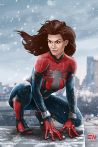 Art Spider Girl New
