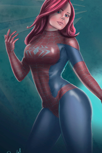 Art Spider Girl