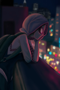 480x854 Art Spider Gwen Stacy