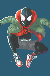 1280x2120 Art Spider Verse