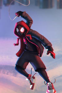 Art Spiderman Miles Morales 4k