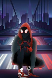 Art Spiderman Miles Morales