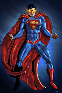 480x800 Art Superman New