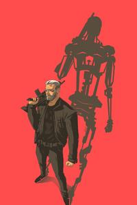 Art Terminator Dark Fate 4k