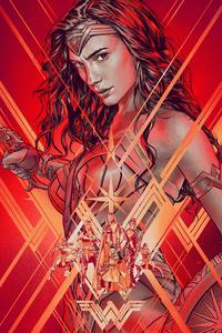 1080x2160 Art Wonder Woman