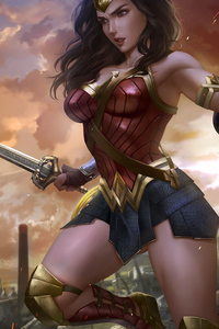 540x960 Art Wonder Woman Latest