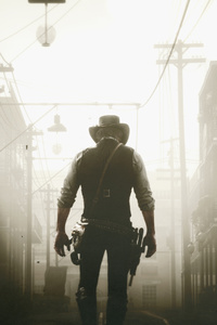 1125x2436 Arthur Mogan Red Dead Redemption 2 4k