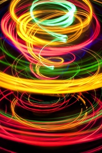 Artistic Abstract Circle Rings