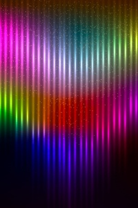 1125x2436 Artistic Colors Rainbow Background 4k