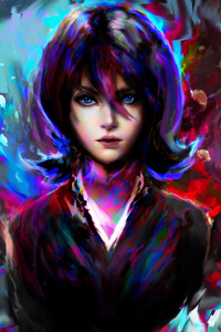 750x1334 Artistic Girl Portrait 4k