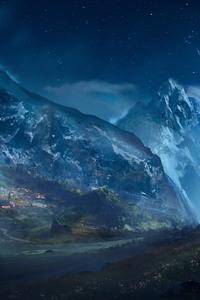 Artistic Landscape Mountains