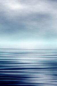 Artistic Ocean and Sky