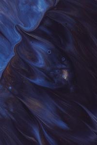 Artistic Paint Texture Dark Blue 5k