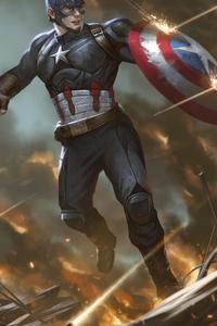 Arts Captain America