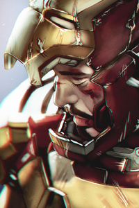 Arts Iron Man New