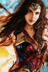 Arts Of Wonder Woman