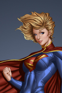 1440x2960 Arts Supergirl