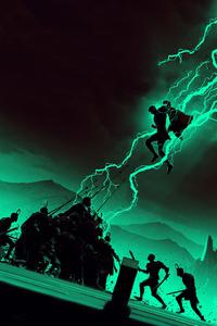 640x1136 Arts Thor Ragnarok