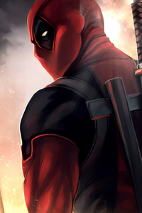 640x1136 Artwork Deadpool New