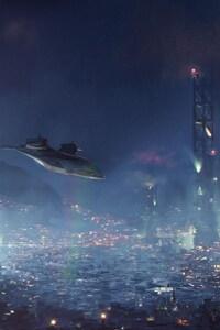640x960 Artwork Deus Ex Mankind Divided Game