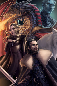 360x640 Artwork Game Of Thrones Season 8