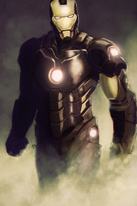 640x960 Artwork Iron Man New