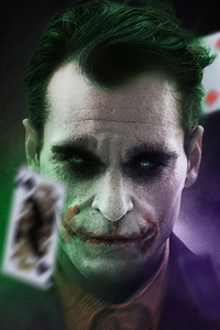 320x480 Artwork Joker Joaquin Phoenix 4k