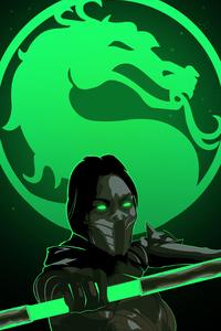 1242x2688 Artwork Mortal Kombat X