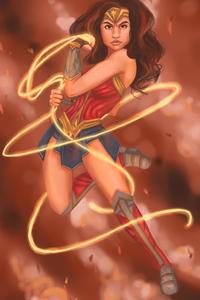 Artwork New WonderWoman
