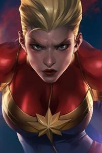 Artwork Of Captain Marvel