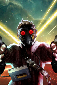 Artwork Of Star Lord
