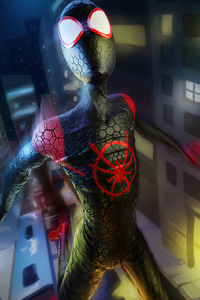 Artwork Spider Man Miles