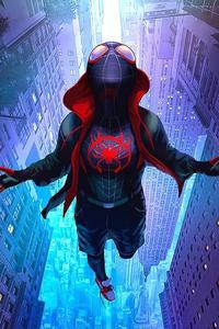 Artwork Spiderman Miles Morales