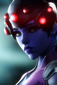 Artwork Widowmaker Overwatch