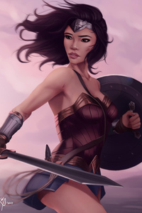 Artworks Of Wonder Woman