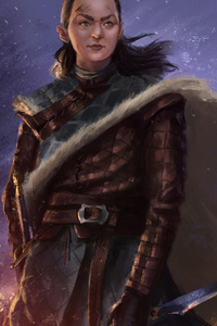 540x960 Arya Stark 4k