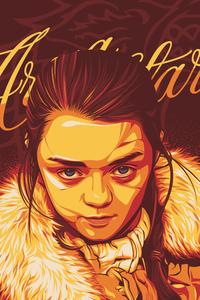 Arya Stark Digital Art