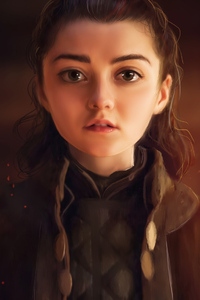 Arya Stark Game Of Thrones Fanart
