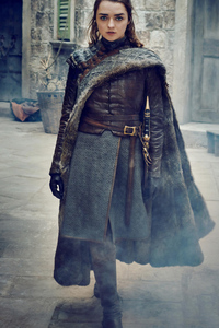 Arya Stark Game Of Thrones Season 8 Photoshoot