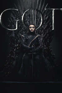 Arya Stark Game Of Thrones Season 8 Poster