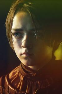 Arya Stark Portrait